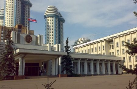 Посольство Северной Кореи в Москве