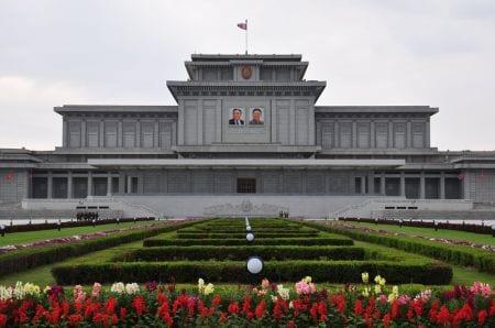 Мавзолей Ким Ир Сена и Ким Чен Ира