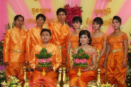 Национальные свадебные костюмы кхмеров (Камбоджа)