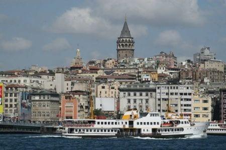 Галатская башня в Турции