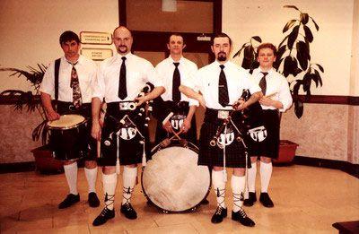шотландский ансамбль