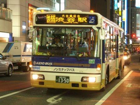 автобус в Японии