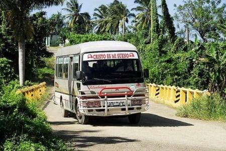 автобус в Доминикане