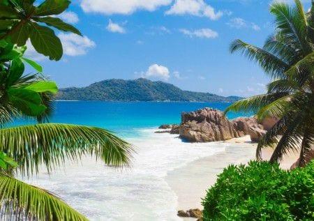 пляж на Багамах