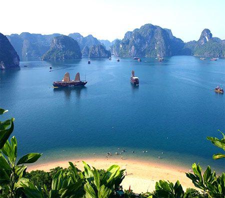 берег Вьетнамского моря