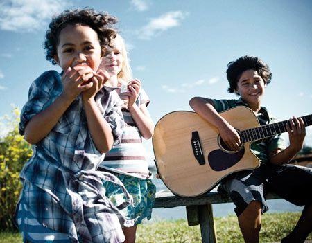 новозеландские дети