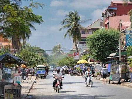 Улица в Камбоджи