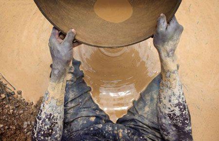 добыча золота аборигенами