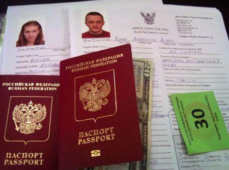 документы на срочную визу