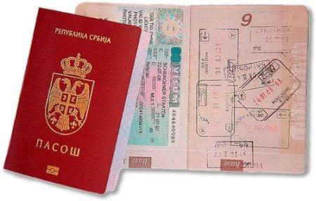 документы в сербию