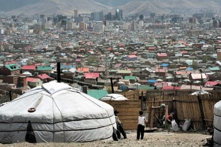 дома в монголии