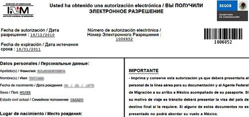электронное разрешение