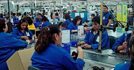 фабрика в Мексике