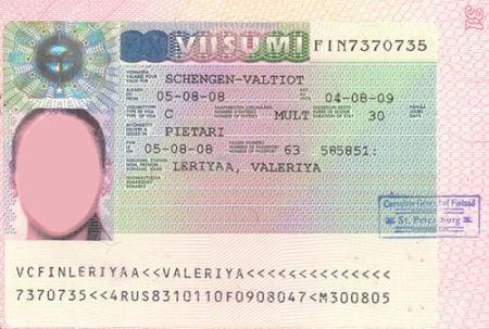 шенгенская виза в Финляндию