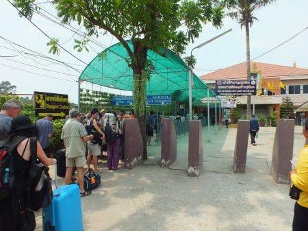 граница Тайланда с Камбоджей