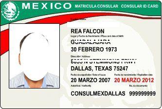 мексиканское удостоверение личности