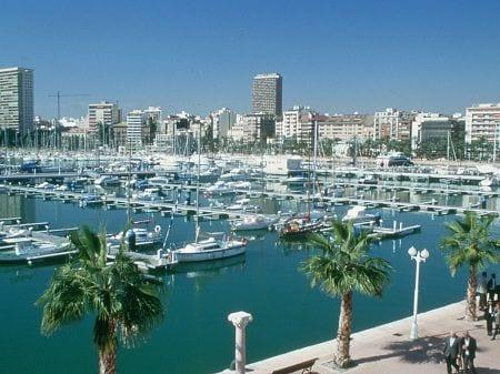 морской пейзаж в Испании
