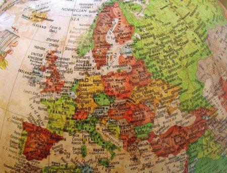 карта стран мира