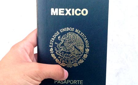 мексиканский паспорт