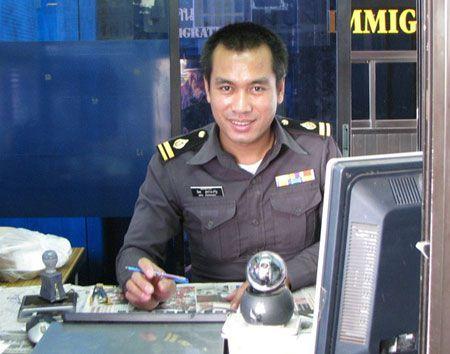 тайский офицер
