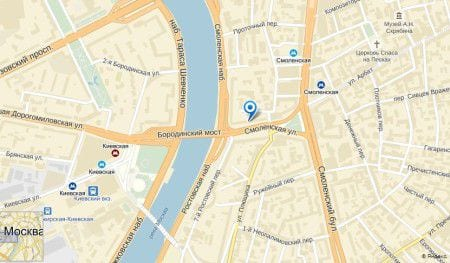 посольство Белиза в Москве на карте