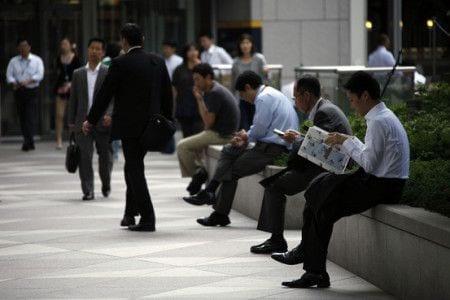 рабочие в японии