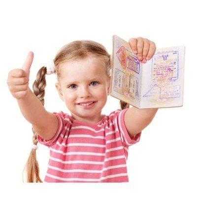 ребенок и виза