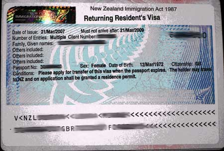 резидентская виза