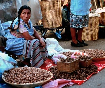 рынок в Мексике
