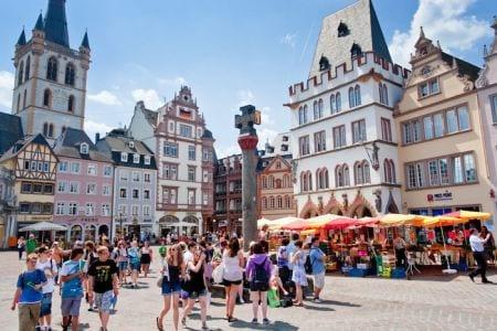 Русские туристы в Германии
