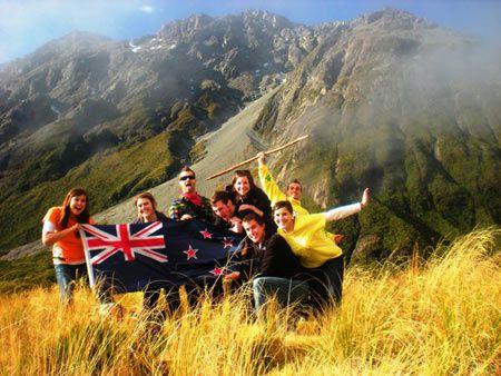 студенты Новой Зеландии
