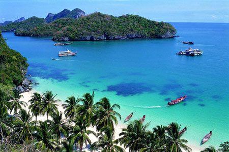 бухта в Тайланде