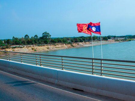 На границе Тайланда и Лаоса