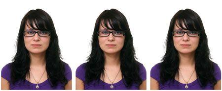 три фото