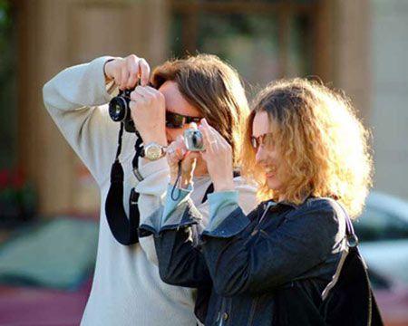 туристы из России