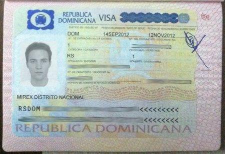 доминиканская виза на 2 месяца