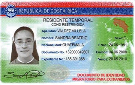 ВНЖ в Коста-Рике