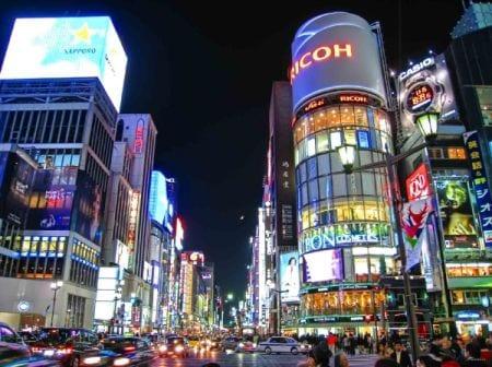ночная жизнь Японии
