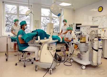 в чешской больнице