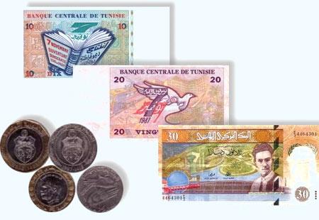 деньги туниса
