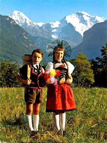 дети в Швейцарии