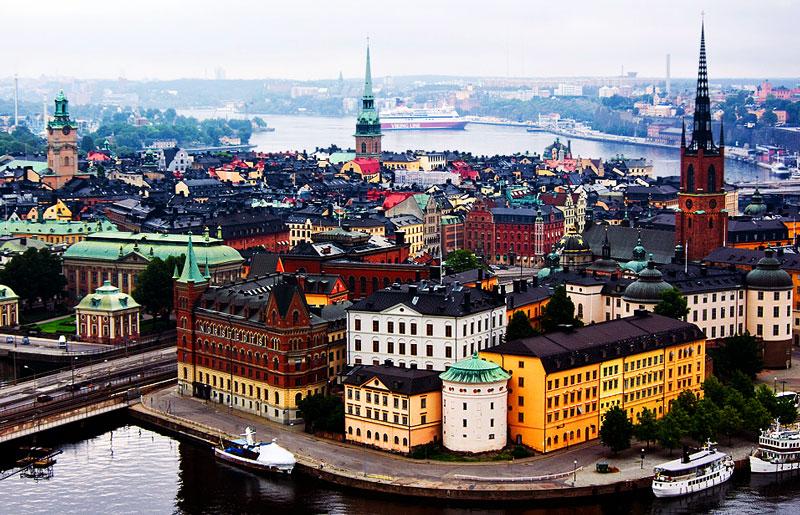 столица Финляндии - Хельсинки