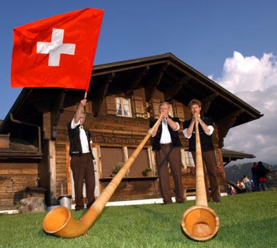 общество в Швейцарии