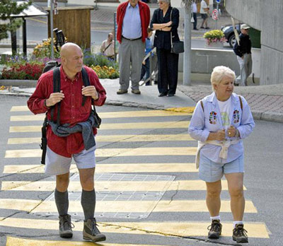 швейцарские пенсионеры