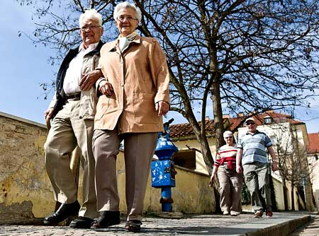 чешские пенсионеры