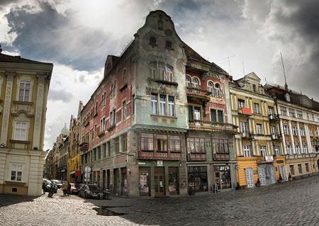 улица в Румынии