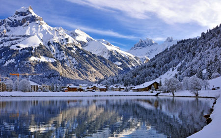 Деревня в Швейцарии