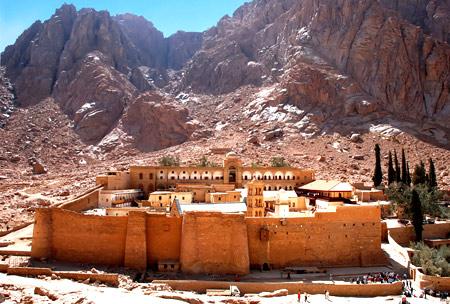 замок на горе Синай