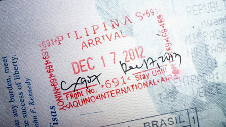 филиппинский штамп в паспорте