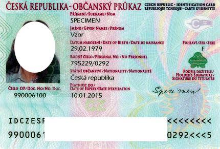 чешское удостоверение